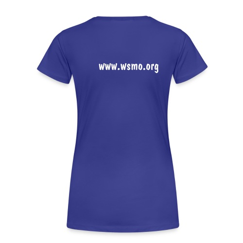 WSMO Blue T-Shirt (Ladies) - Women's Premium T-Shirt