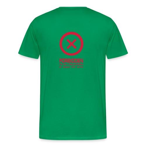 Comfort T - Forbiddenschrift - Maglietta Premium da uomo