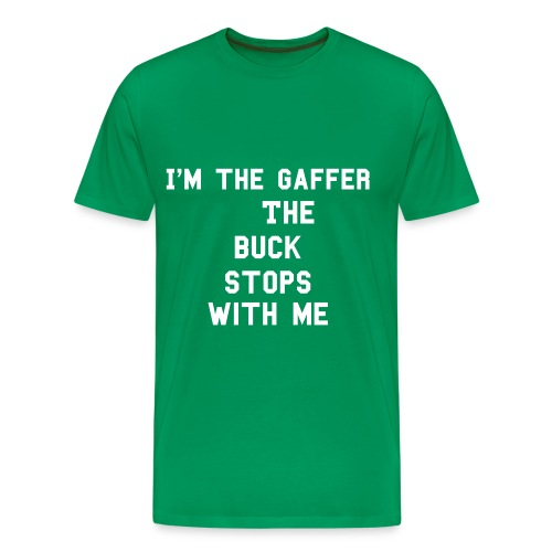 I'm the gaffer - Men's Premium T-Shirt