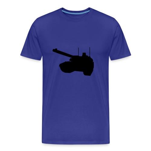 Panzer - Frontal - Männer Premium T-Shirt