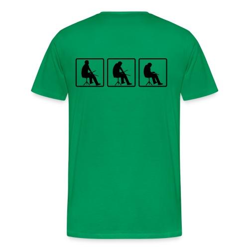 Drum! - Mannen Premium T-shirt