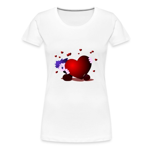 Heart Girlie - Vrouwen Premium T-shirt