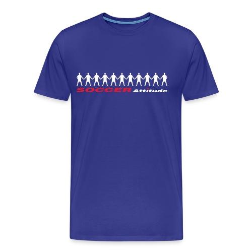 Männer Premium T-Shirt - SOCCER