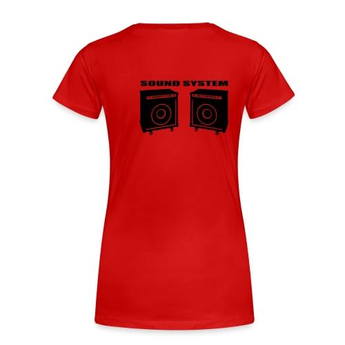 headbanging2 - T-shirt Premium Femme