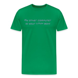 LINUX box t - Men's Premium T-Shirt