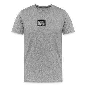 Bytteklubben GameOver - Premium T-skjorte for menn