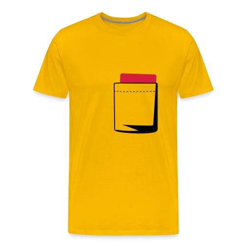Schiri Rote Karte - Männer Premium T-Shirt