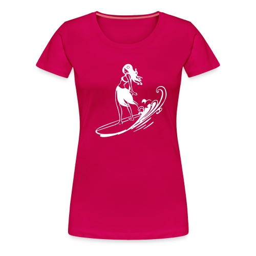 Surf Girl - Women's Premium T-Shirt
