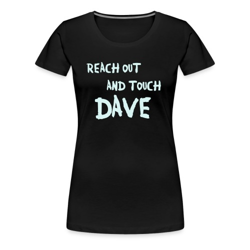 Reach Out Power-Reflex Girlie - Frauen Premium T-Shirt