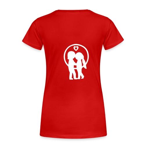 LOVE Girly-Shirt - Frauen Premium T-Shirt