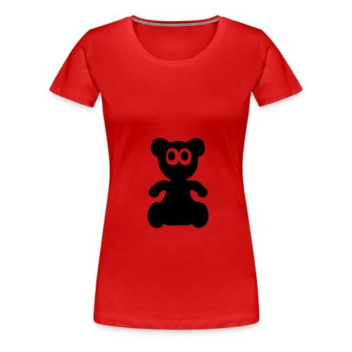 CONTINENTAL CLASSIC motif TEDDY - T-shirt Premium Femme