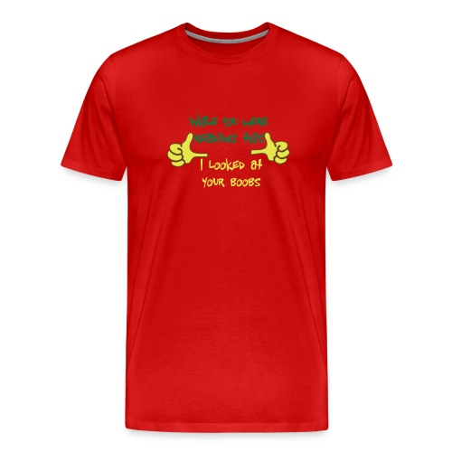 3XL While you were reading this .... - Men's Premium T-Shirt