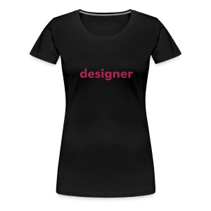LADIES black - Women's Premium T-Shirt
