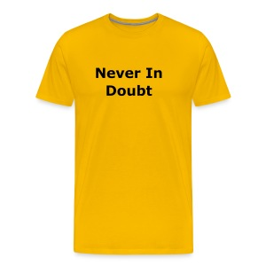 Doubt YCT - Men's Premium T-Shirt