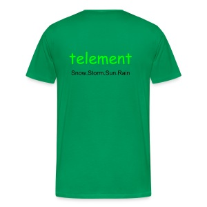 telement NEW DESIGN T-Shirt - Men's Premium T-Shirt