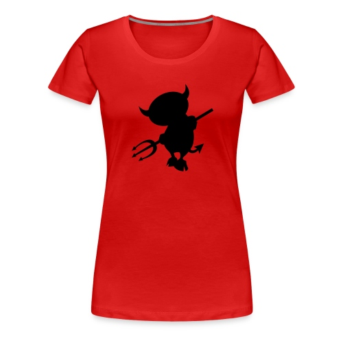 Devil girlie - Vrouwen Premium T-shirt