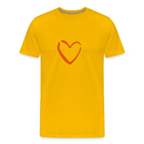 The Heart - Men's Premium T-Shirt