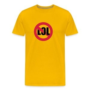 NO LOL t - Men's Premium T-Shirt