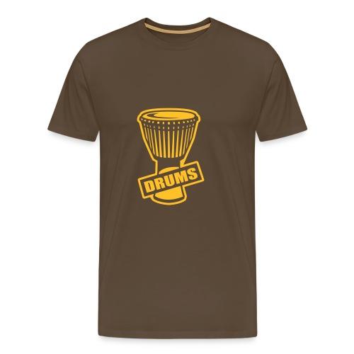 Drums - T-shirt Premium Homme
