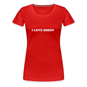 I LOVE SIMON - Women's Premium T-Shirt