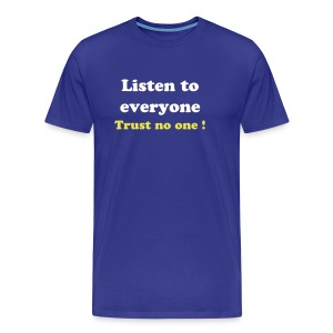 Listen - Simple - T-shirt Premium Homme