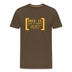 Unix is... - Men's Premium T-Shirt