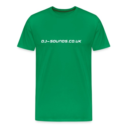 DJ-Sounds Mens T Shirt - Men's Premium T-Shirt
