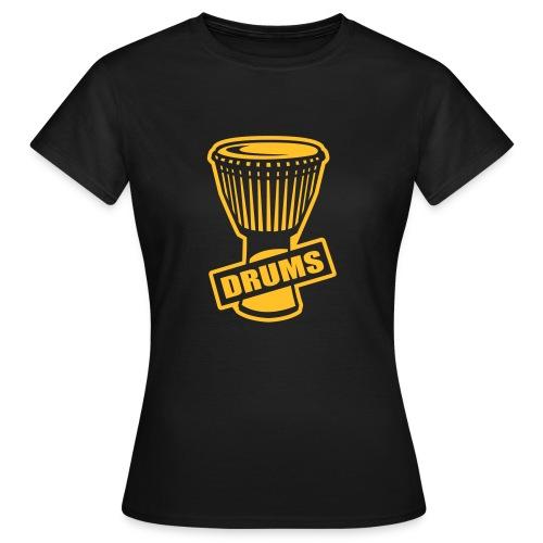 Drums - T-shirt Femme
