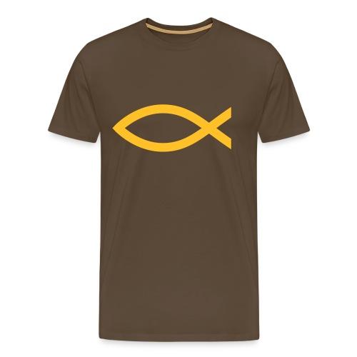 Logo Shirt 2 - Mannen Premium T-shirt