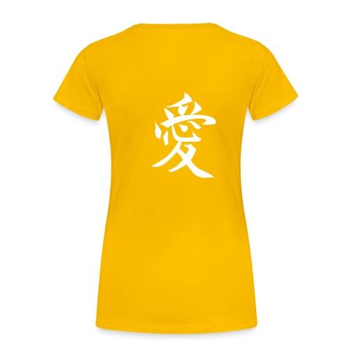 Girl Tee 4 China Coll. - Premium T-skjorte for kvinner
