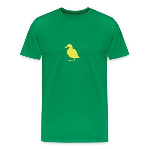 Quack Quack Green - Men's Premium T-Shirt