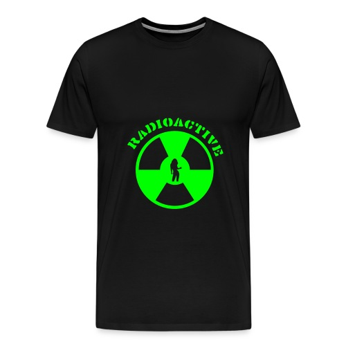 Radioactive green - Premium T-skjorte for menn