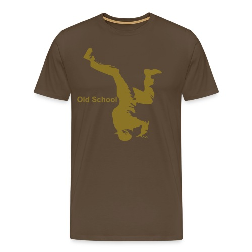 Old School Breaker Gold Edition Limited - Men's Premium T-Shirt