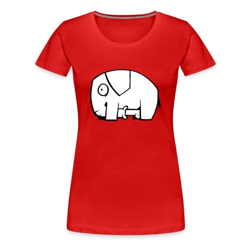 Unanständiger Elefant - Frauen Premium T-Shirt