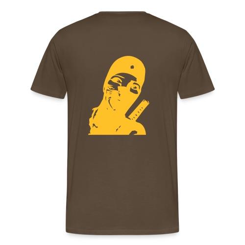 I can't stop thinking about ninjas. - Männer Premium T-Shirt