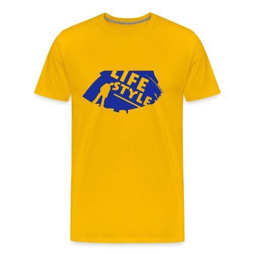 Life - Mannen Premium T-shirt