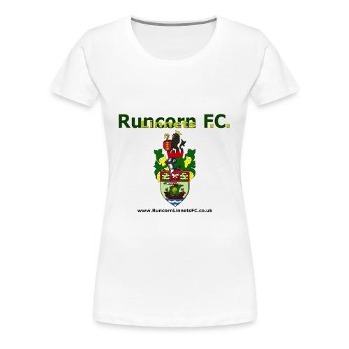Ladies T-Shirt - Logo and Crest - Women's Premium T-Shirt