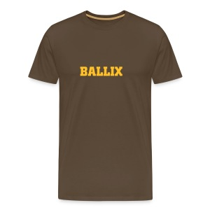 Brown Ballix Comfort T - Men's Premium T-Shirt