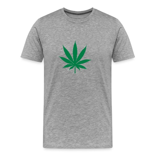 COMFORT T MEN TOP.cannabis - Men's Premium T-Shirt