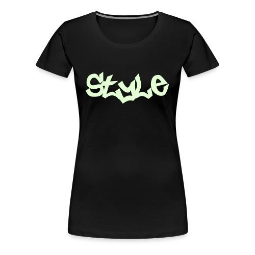 Style Girl Glow - Vrouwen Premium T-shirt