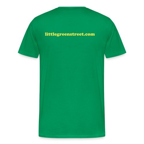 Limited edition 'Save Little Green Street' t-shirt - Men's Premium T-Shirt