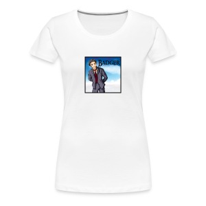Badger - Animation - Women's Premium T-Shirt