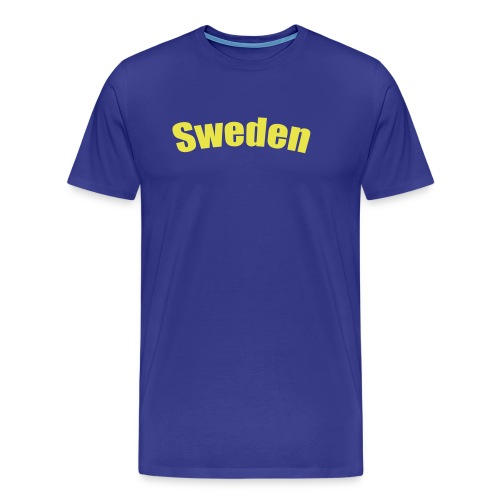 T-Shirt Sweden - Premium-T-shirt herr
