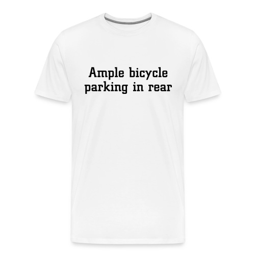 bicycle XXXL T-shirt - Men's Premium T-Shirt