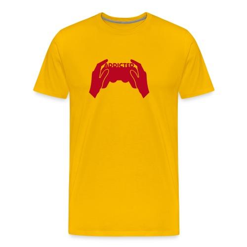 addicted - Mannen Premium T-shirt