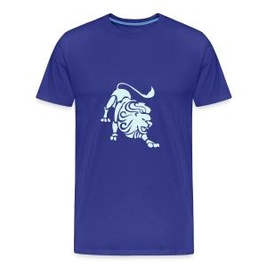 Blue Lion - Premium T-skjorte for menn