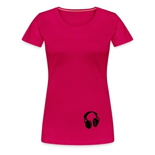 profi music girl - Frauen Premium T-Shirt