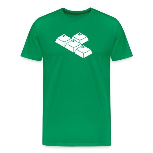 wasd - Mannen Premium T-shirt
