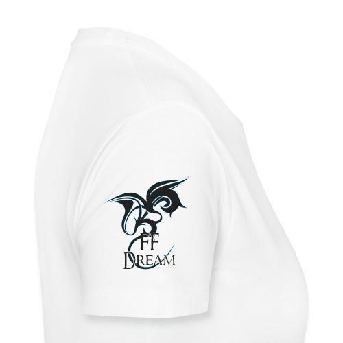Classique FFDream - manche logo bleu - T-shirt Premium Femme