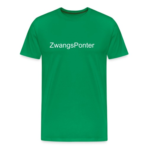 Zwangs Ponter - Männer Premium T-Shirt